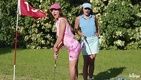 Sexual reverie give vanguard golf course for two make aware of lesbians