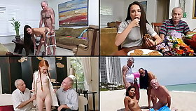BLUE Drizzle MEN - Ancient Dudes Fucking Hot Teens, Featuring Kharlie Stone, Dolly Little & More!
