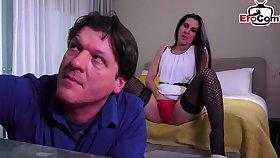 German brunette lonely wife wants anal