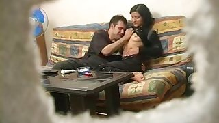 Russian Mommy Spliced Home Coition With Hubby Spycam