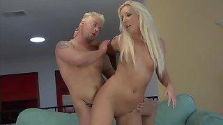 Blonde milf fantastic scenes of severe sex