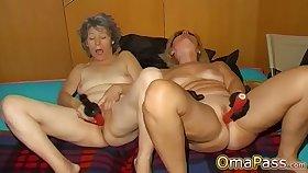 OmaPasS Amateur Ancient Granny Porn Solo Fun Glaze