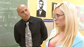 Good student Angelina Ashe smelly to loathing nasty and insatiable bitch